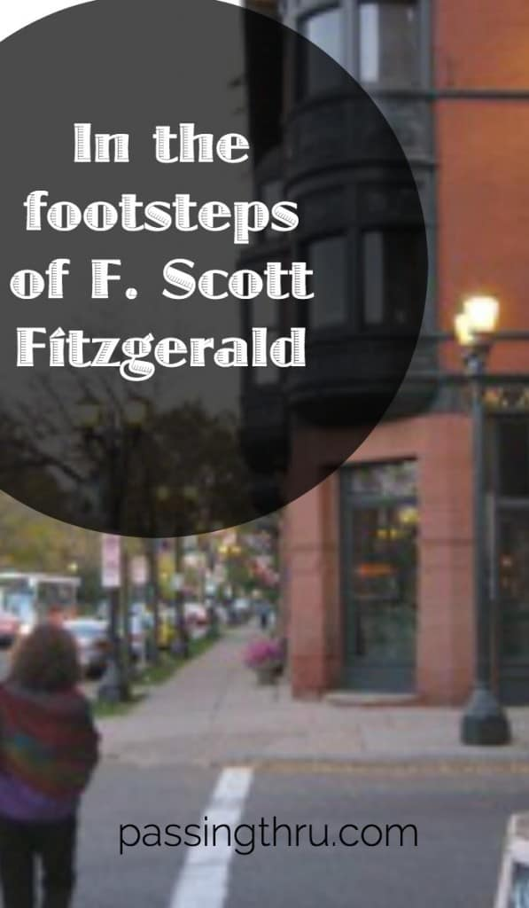 In the Footsteps of F Scott Fitzgerald
