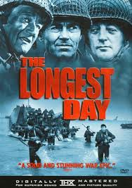 The Longest Day with John Wayne, Eddie Albert, Henry Fonda, Richard Burton, Red Buttons, Robert Mitchum, Rod Steiger, and Bill Millim, bagpiper, as himself.