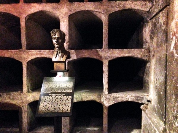 The hiding place of heroes