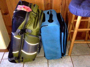 packing for our RTW trip