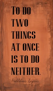do two things