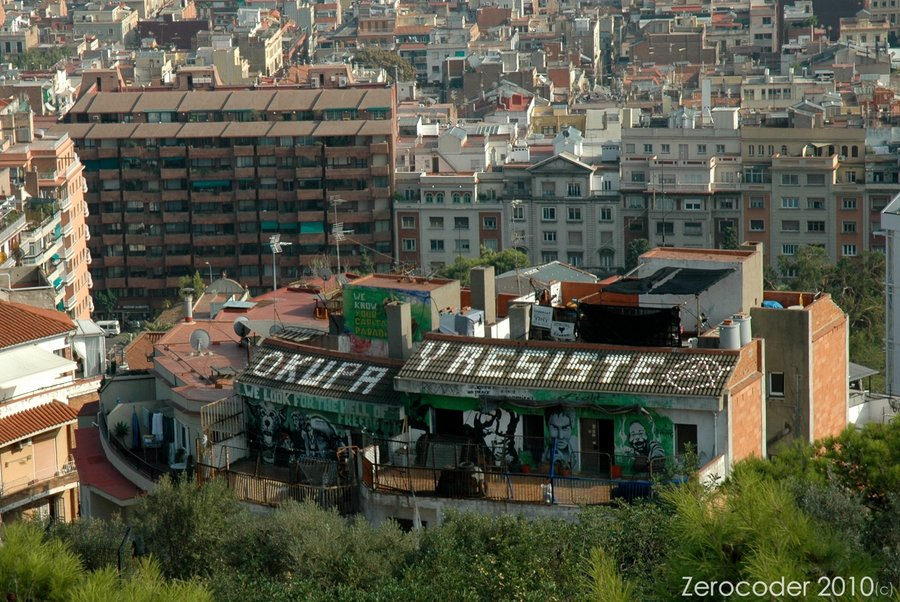 Modern day Barcelona anarchists use squatting as a means of resistance. Photo Credit: zerocoder