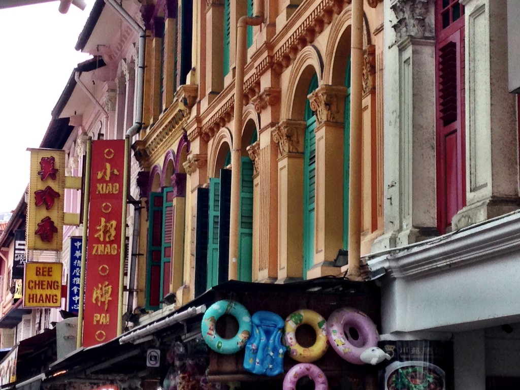 old singapore - chinatown