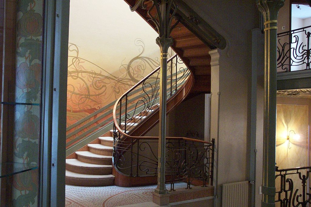 Hotel Tassel art nouveau in Brussels