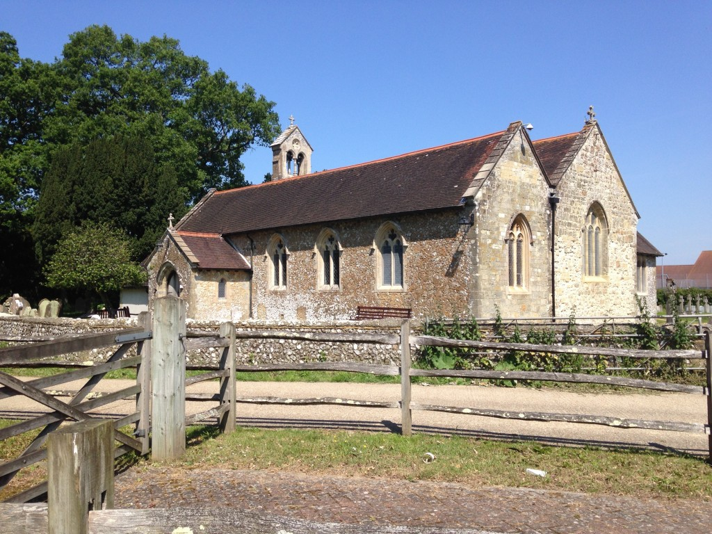 Ashington church, West Sussex village life