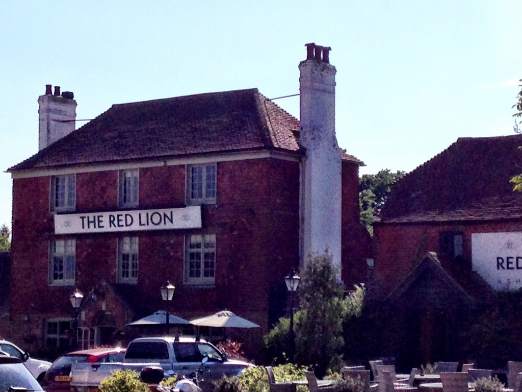West Sussex village life - The Red Lion in Ashington