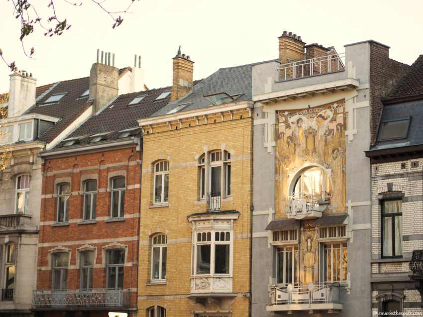 art nouveau in brussels