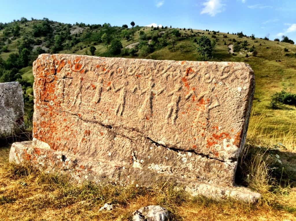 Stecci - Medieval tombstones attributed to Balkan Bogomils