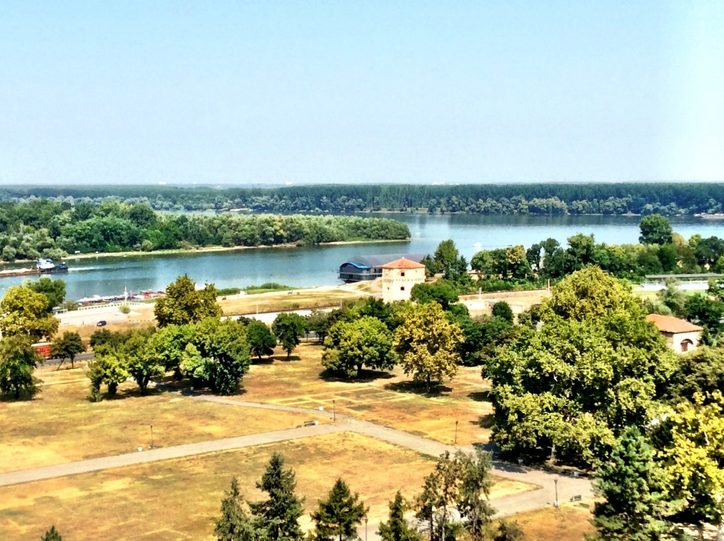 into Serbia - the Sava and Danube rivers