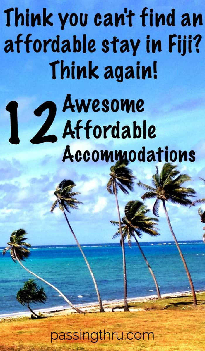 Paradise at affordable prices #Fiji