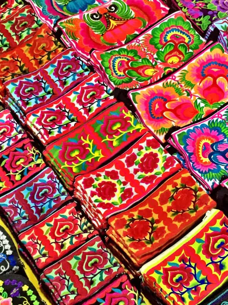 Luang Prabang Night Market Embroidery