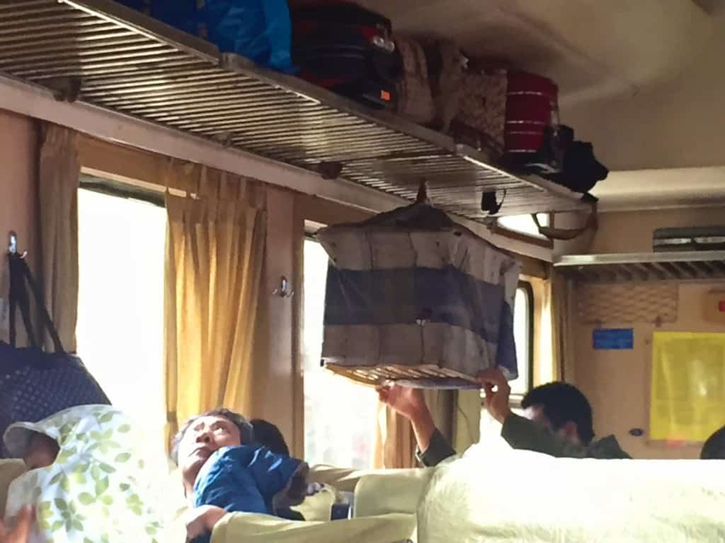 Hanoi to Ho Chi Minh City by train