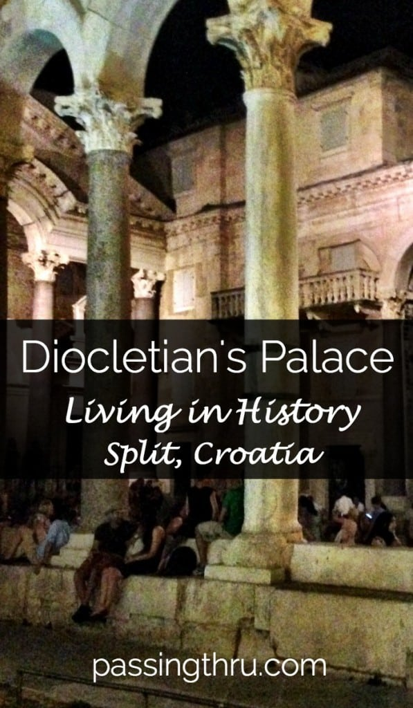 Palace of Diocletian Split Croatia