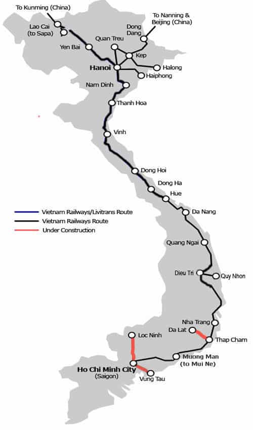 vietnam-rail-map hanoi ho chi minh train