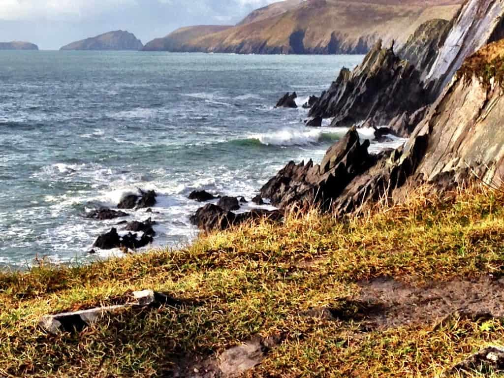 Slea Head, Dingle, Ireland. We never would have seen this without needing cheap tickets from Hawaii to Europe.