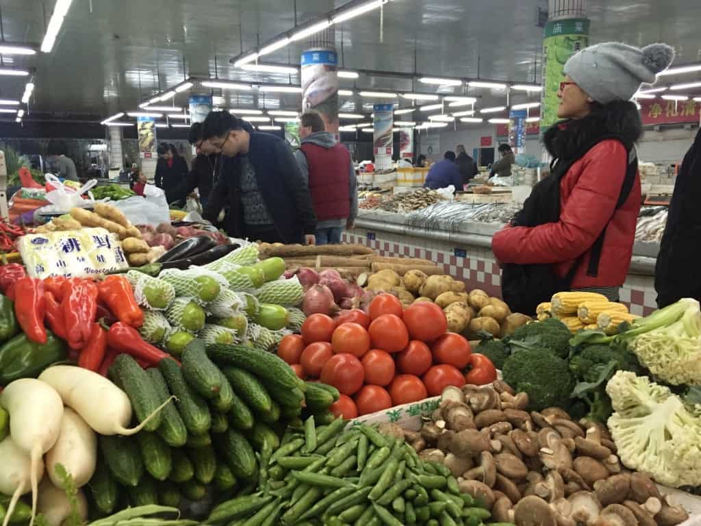 explaining china - ningbo fresh market