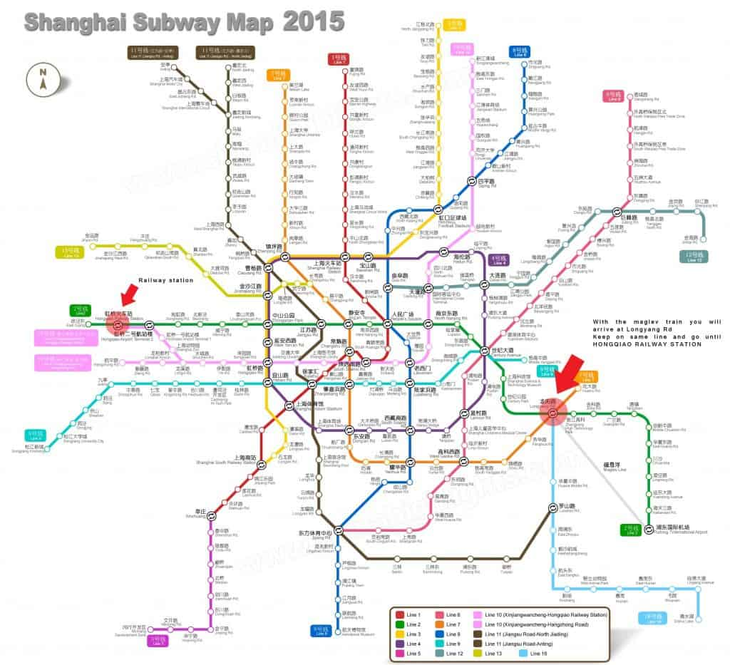 metro line shanghai- betsy and peter