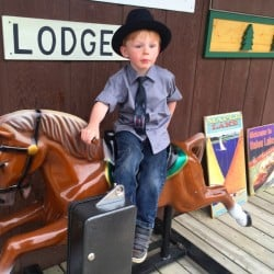Meeting the 4-year-old Mayor of Dorset, Minnesota