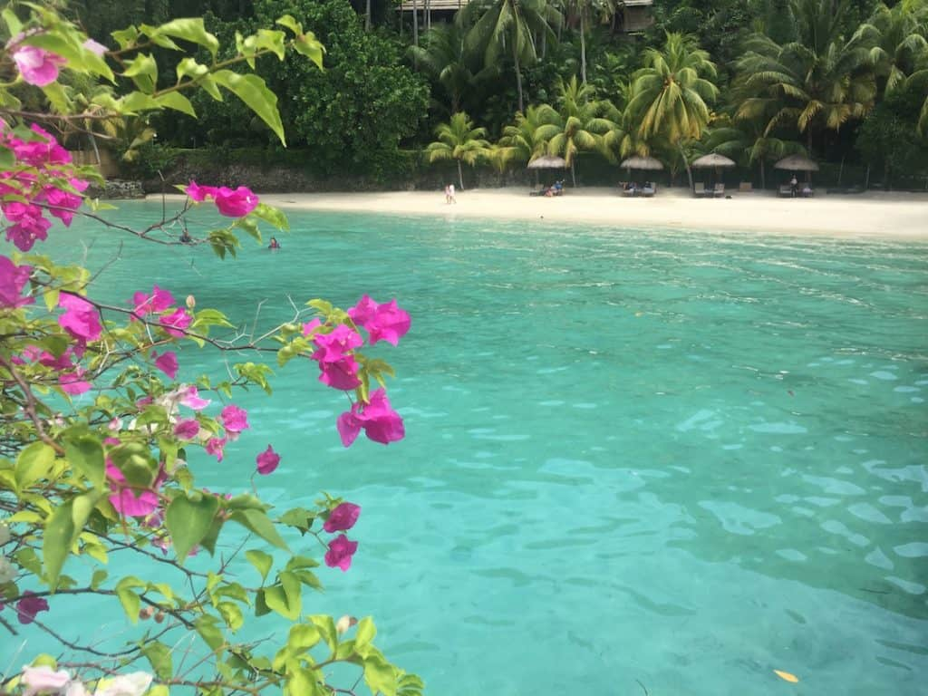 overwater bungalow escape in the Philippines