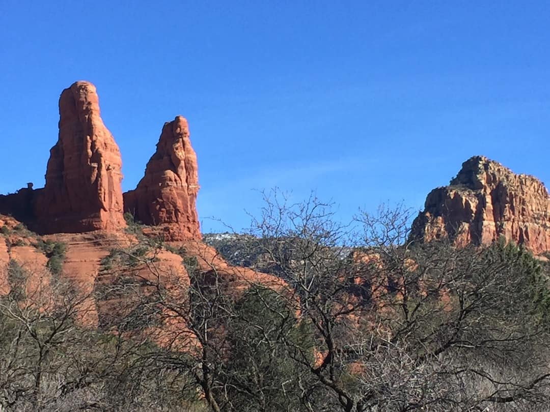 Rock spires near Sedona