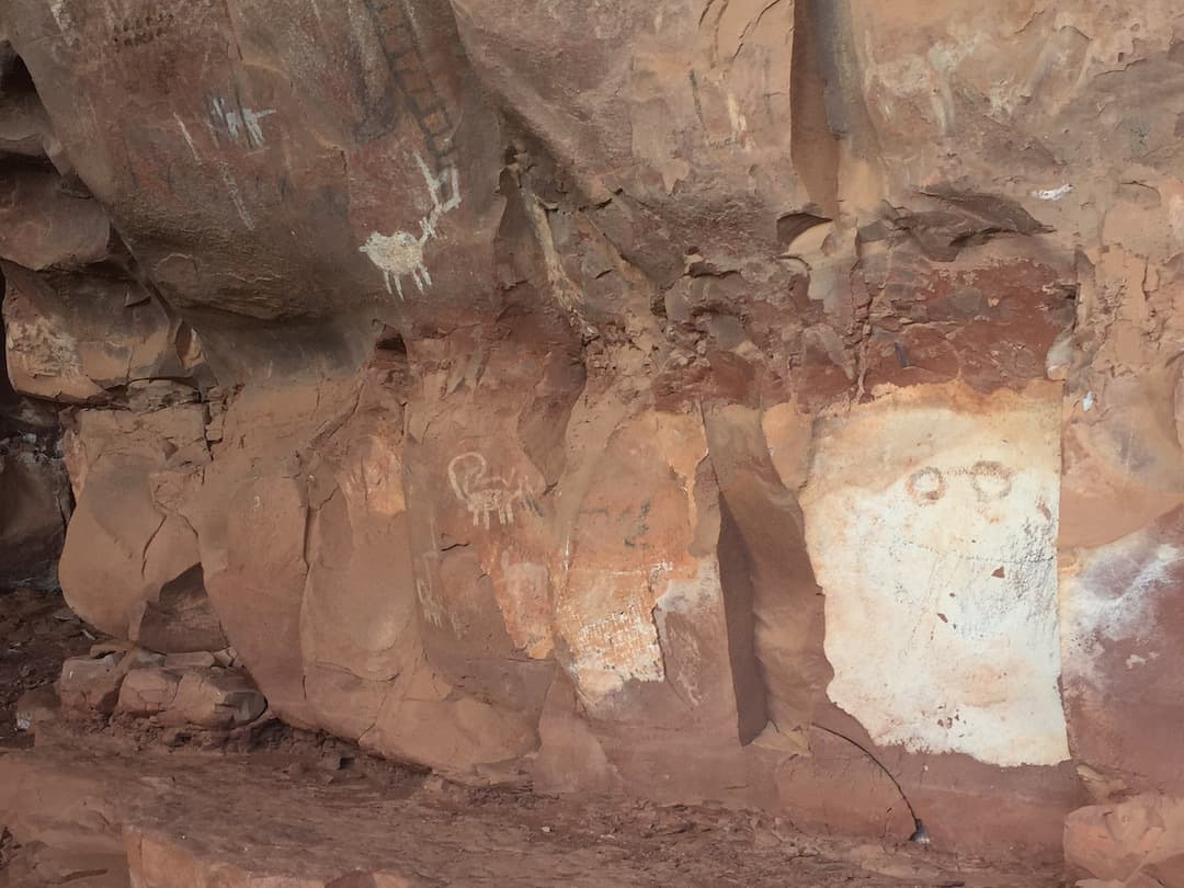 Sedona Pictographs