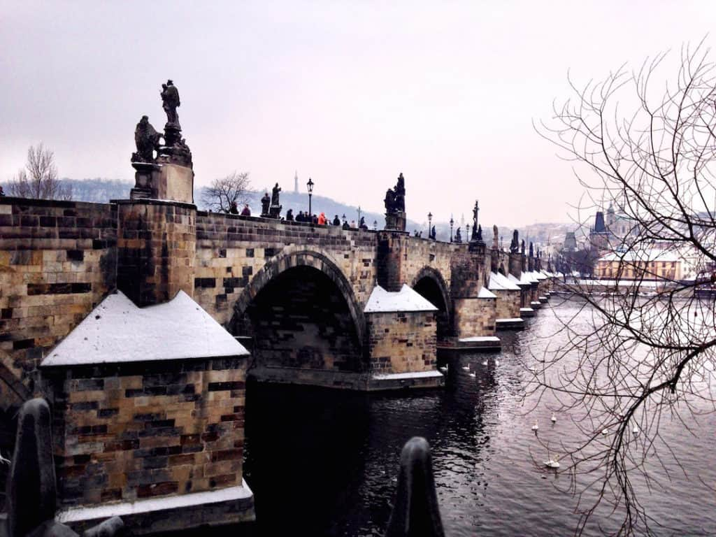 Prague First Timers Guide - Charles Bridge: Things to do in Prague, what not to miss for first timers traveling to Prague, #travel #travelblogger #Prague #Europe #CzechRepublic #Czechia