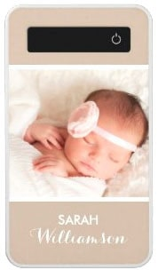 Custom Family Kids Personal Photo Portrait Power Bank