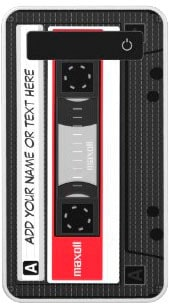 Funny Retro Cassette Mixtape Custom Name Text Power Bank