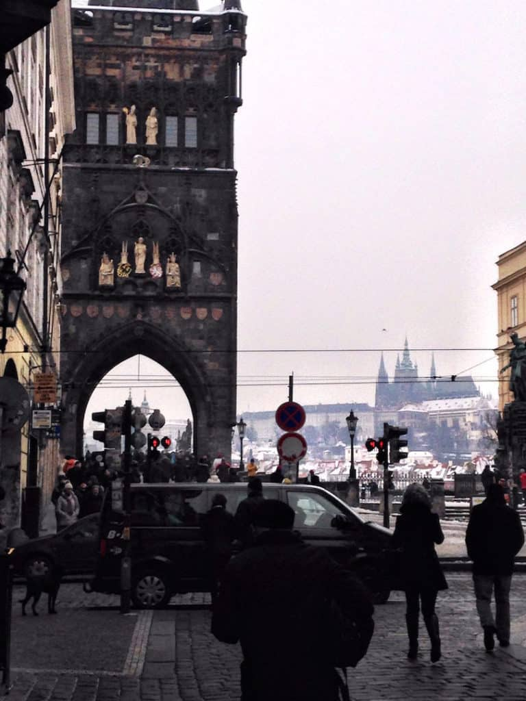 Gothic Tower Things to do in Prague, what not to miss for first timers traveling to Prague, #travel #travelblogger #Prague #Europe #CzechRepublic #Czechia