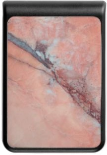 Pink Italian Marble With Flaw Power Bank