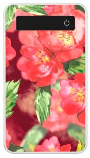 Pink Watercolor Roses Power Bank