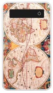 Map of the Known World Circa 1600 Power Bank