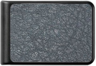 Vintage Worn Wrinkled Textured Black Leather Power Bank