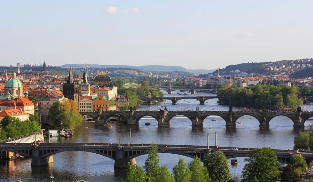 Bridges in Prague: Things to do in Prague, what not to miss for first timers traveling to Prague, #travel #travelblogger #Prague #Europe #CzechRepublic #Czechia
