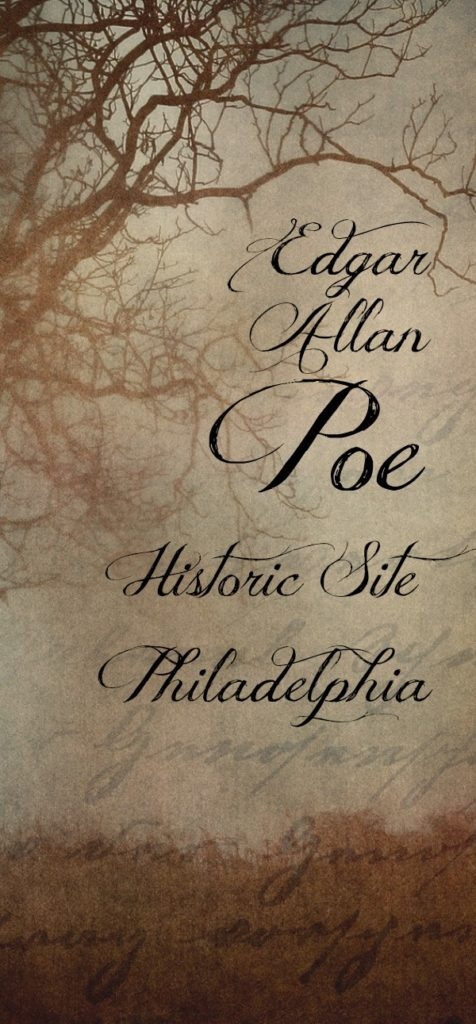 A Fan of Literature Visits the Residence of Edgar Allan Poe in Philadelphia