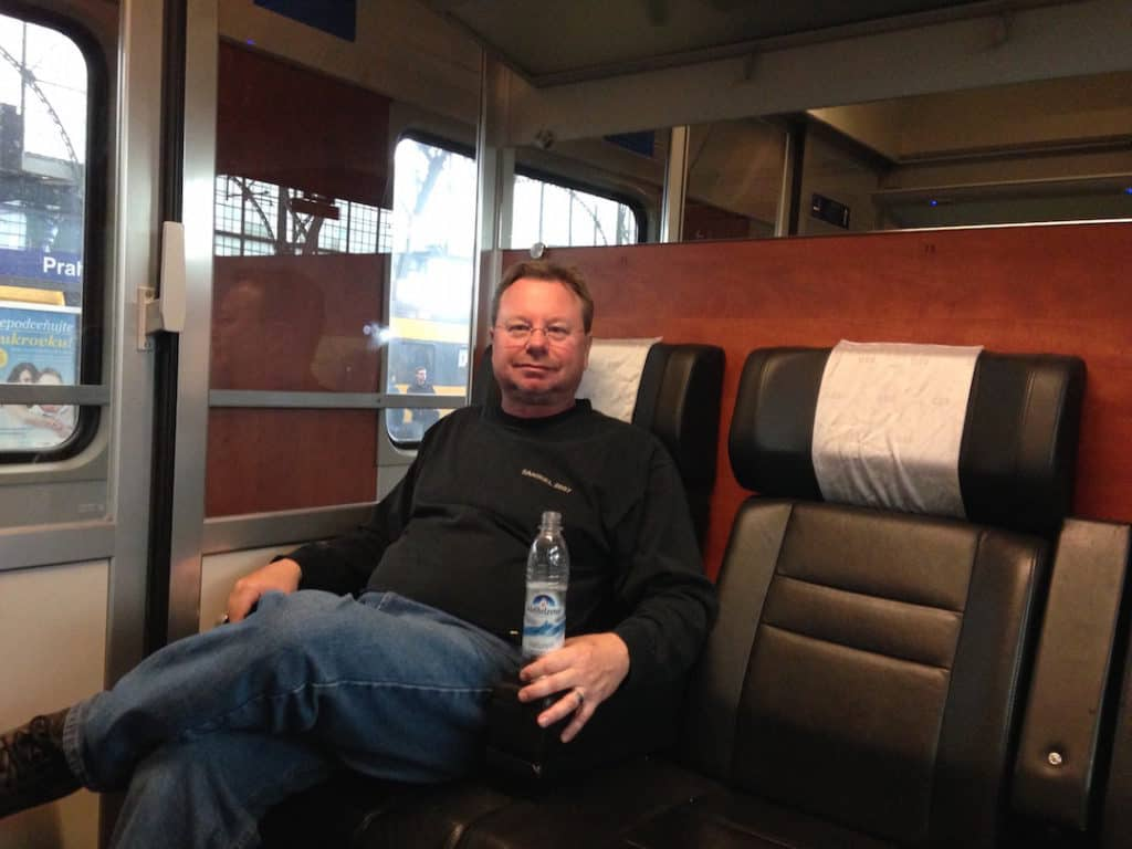 traveling first class with Eurail