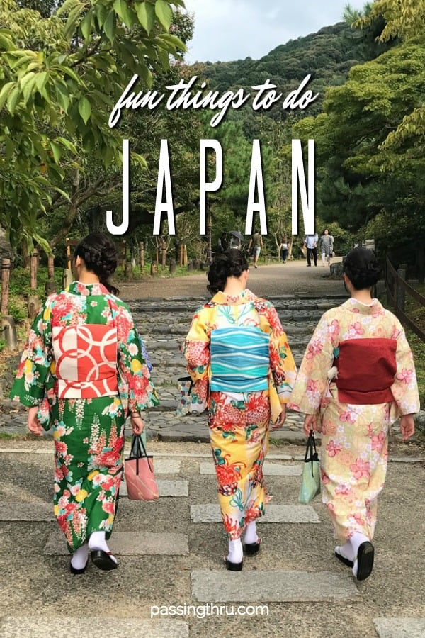 Crazy Fun Things to Do in Japan