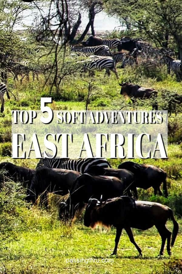 Top 5 Soft Adventures in East Africa