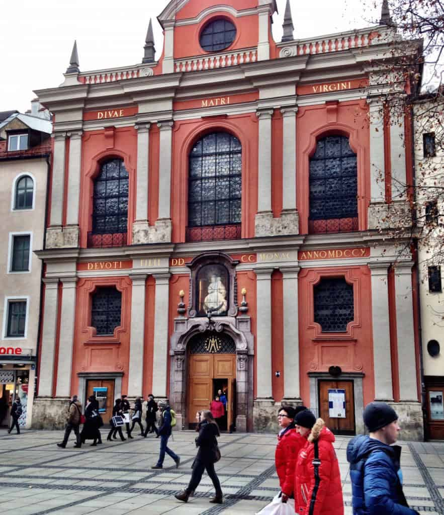 Free things to do in Munich - Burgersaalkirche