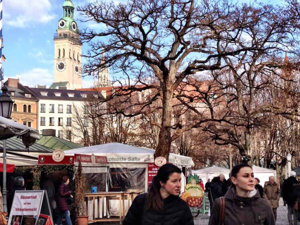 things to do in munich with kids Viktualienmarkt