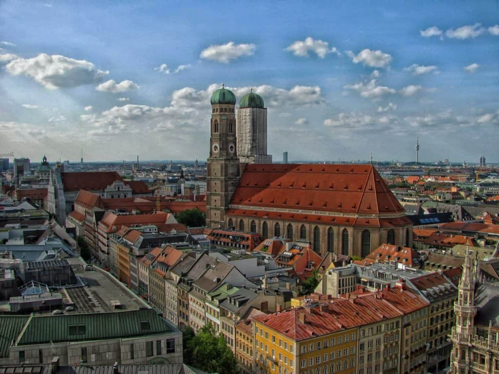 places to go in Munich: Frauenkirche