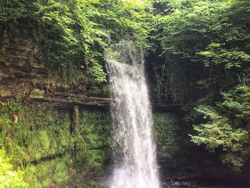things to do in sligo: glencar waterfall