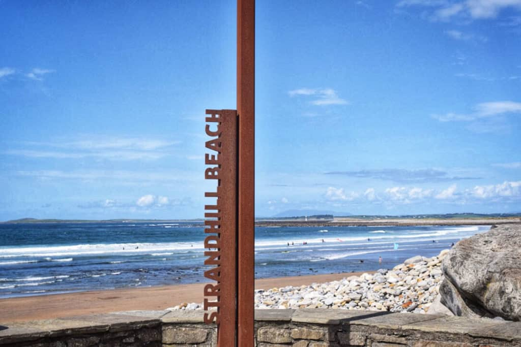 things to see in ireland: strandhill beach