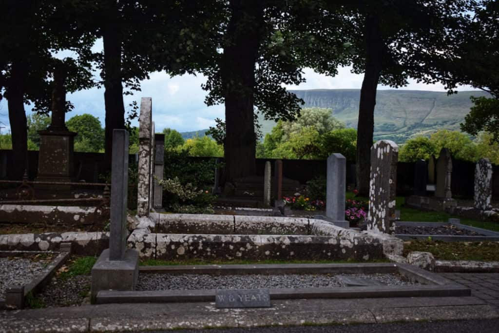 grave of yeats sligo ireland