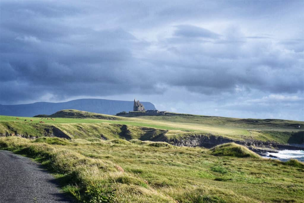 castles in sligo: classiebawn