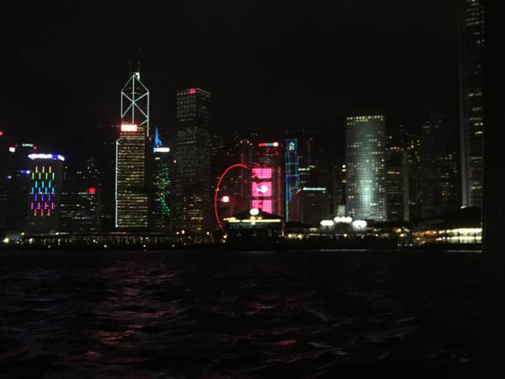 hong kong sightseeing victoria harbour