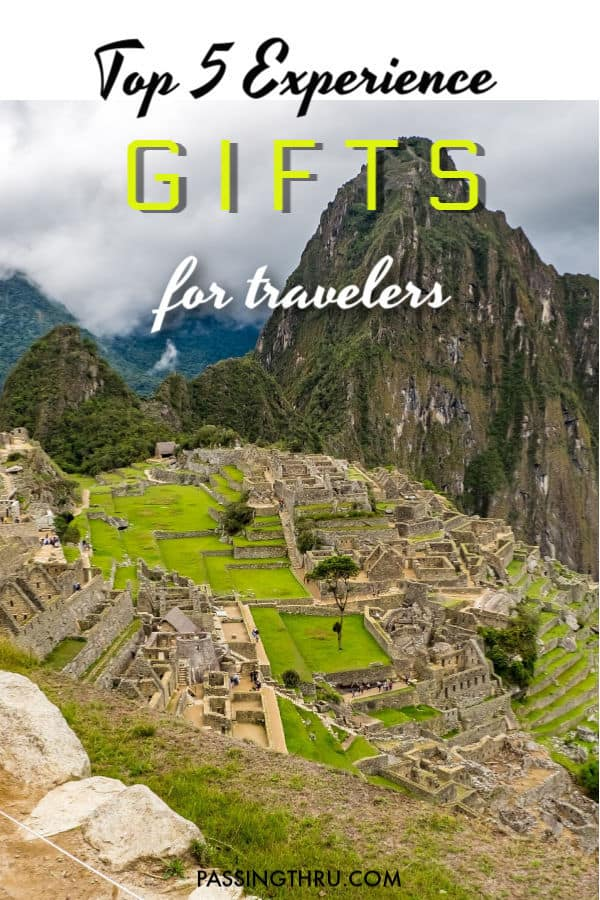 top 5 gift experiences for travelers
