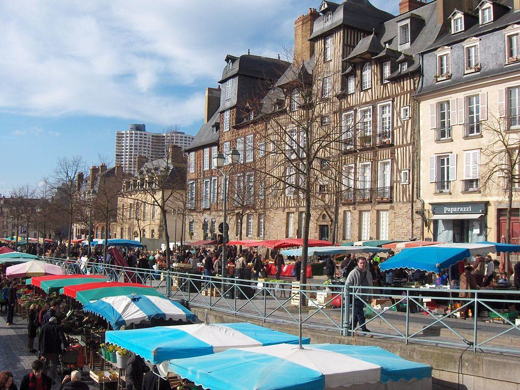 marche des lices rennes france places to visit in brittany