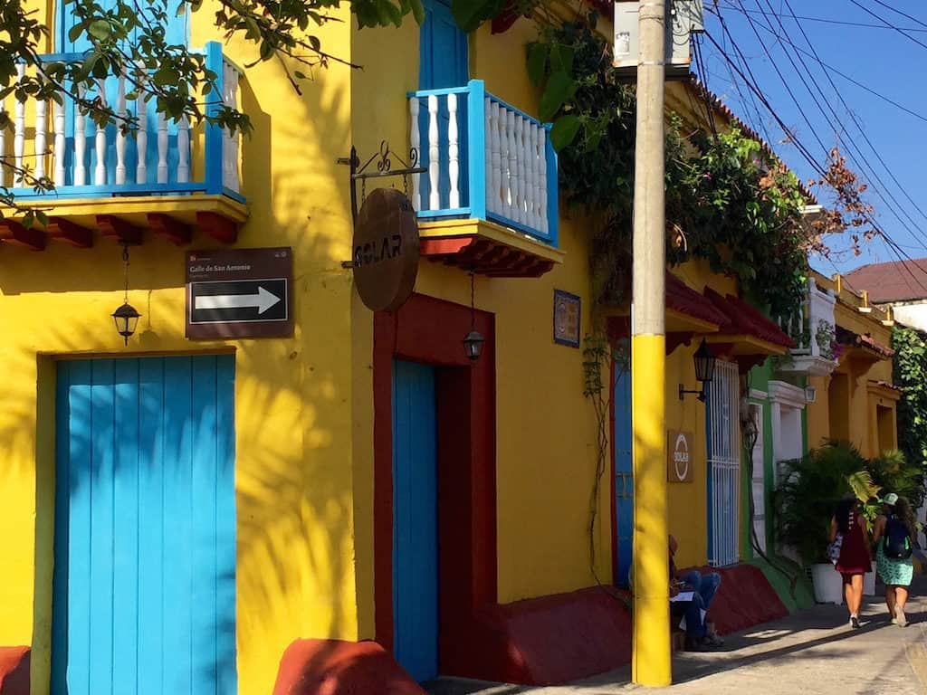 cartagena what to do - notice caribbean colorful architecture