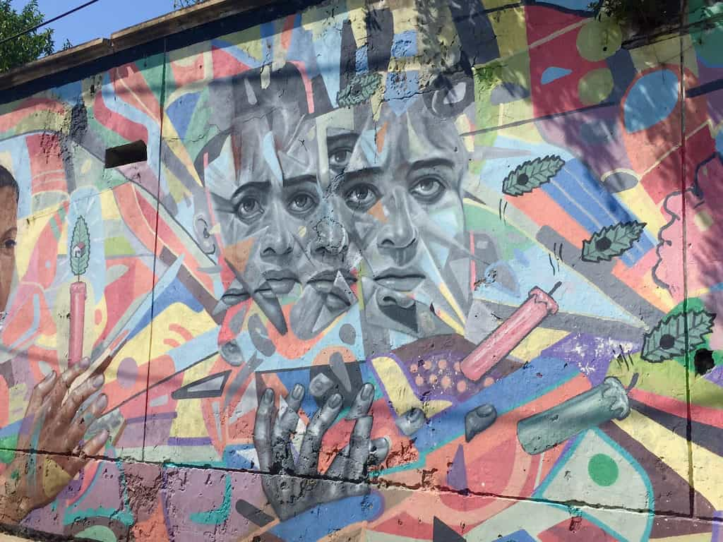 unique things to do in colombia - street art touring